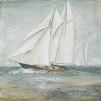 Cape Cod Sailboat I Fine-Art Print