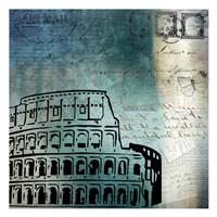 Roman Blue Fine-Art Print