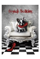 French Princess Bulldog 82453 Fine-Art Print