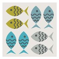 Fishy March Fine-Art Print