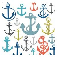 Coastal Anchors Fine-Art Print