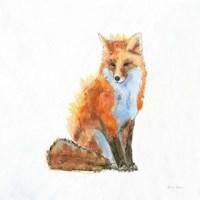 Into the Woods IV on White no Border Fine-Art Print