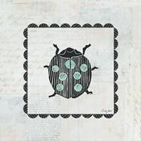 Ladybug Stamp Fine-Art Print