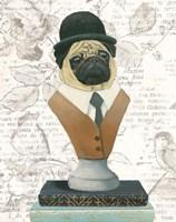 Canine Couture Newsprint III Fine-Art Print