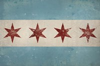 Chicago Flag Fine-Art Print