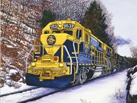 Engine #9537 Fine-Art Print