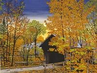 Stowe Hollow Bridge Fine-Art Print