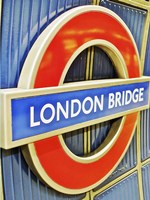 London Bridge Underground Sign Fine-Art Print