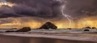 Storm At Face Rock1 Fine-Art Print