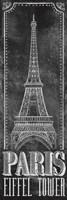 Chalkboard - Eiffel Tower 2 Fine-Art Print