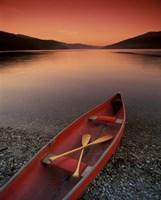 Red Canoe Fine-Art Print