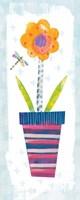 Collage Flower I Border Fine-Art Print