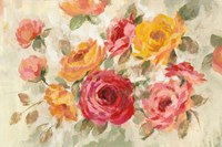 Brushy Roses Fine-Art Print
