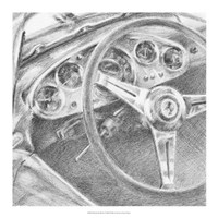 Behind the Wheel I Fine-Art Print
