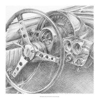 Behind the Wheel II Fine-Art Print