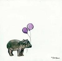 Nursery Hippo Fine-Art Print