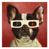3D Dog Fine-Art Print
