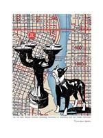 Benson Bubbler Drinking Fountain - Portland Fine-Art Print
