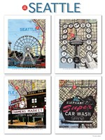 Seattle Poster Fine-Art Print