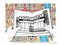 Powell's Books Portland Fine-Art Print