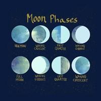 Moon Phases Fine-Art Print