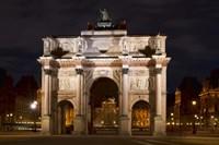 Arc de Triomphe du Carrousel Fine-Art Print