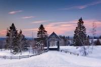 Snow at the Bridge Fine-Art Print