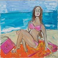 Beach Girl Fine-Art Print