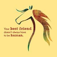 Horse Quote 10 Fine-Art Print