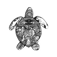 Goodbye Sea Turtle Fine-Art Print