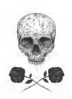 Skull N Roses Fine-Art Print