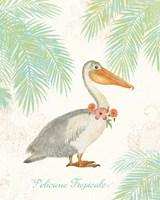 Flamingo Tropicale I Fine-Art Print