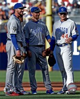Chicago Cubs All-Star Infield 2016 MLB All-Star Game Fine-Art Print