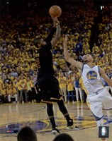 Kyrie Irving Three Pointer Game 7 of the 2016 NBA Finals Fine-Art Print