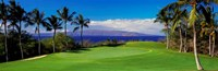 Wailea Emerald Course, Maui, Hawaii Fine-Art Print