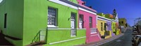 Colorful Houses, Cape Town, South Africa Fine-Art Print