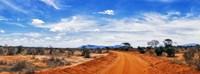 Dirt Road in Tsavo East National Park, Kenya Fine-Art Print