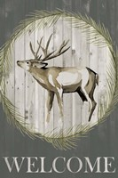 Woodland Welcome I Fine-Art Print
