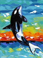 Ocean Friends I Fine-Art Print