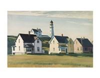 Lighthouse Village (also known as Cape Elizabeth), 1929 Fine-Art Print