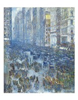 Fifth Avenue, 1919 Fine-Art Print