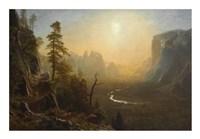 Yosemite Valley, Glacier Point Trail, ca. 1873 Fine-Art Print