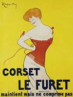Corset le Furet, 1901 Fine-Art Print