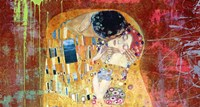 Klimt's Kiss 2.0 (detail) Fine-Art Print
