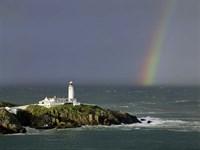 Rainbow over Fanad-Head, Ireland Fine-Art Print