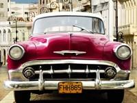 Classic American Car in Habana, Cuba Fine-Art Print