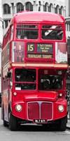 Double-Decker Bus, London Fine-Art Print