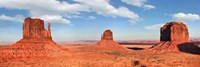 View to the Monument Valley, Arizona Fine-Art Print