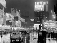 Times Square at Night, NYC, 1951 Fine-Art Print