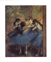 Blue Dancers Fine-Art Print